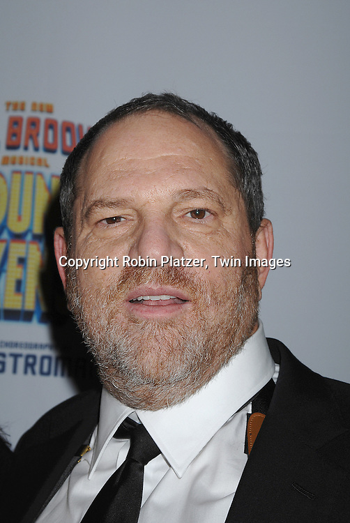 "Harvey Weinstein..arriving at The Broadway Opening Night of The New Mel Brooks Musical ""Young Frankenstein"" on November 8, 2007 at The Hilton Theatre in New York. ..Robin Platzer, Twin Images....212-935-0770"