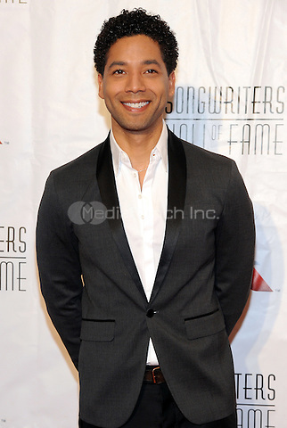 NEW YORK, NY - JUNE 09:Jussie Smollett attends the 47th Annual Songwriters Hall Of Fame Induction And Awards Gala at The New York Marriott Marquis on June 9, 2016 in New York City.  Photo Credit:John Palmer/ Media Punch