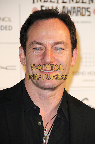 JASON ISAACS .Attending The British Independent Film Awards,The Brewery, London, England, UK, December 6th 2009..arrivals portrait headshot black smiling necklaces .CAP/CAS.©Bob Cass/Capital Pictures.