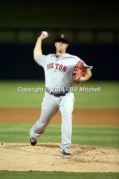 Keith Couch - Surprise Saguaros - 2014 Arizona Fall League (Bill Mitchell)