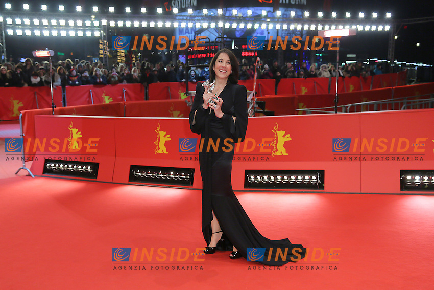 Paulina Garcia. Berlin 16/02/2013. 63th Berlinale Award Winners red Carpet. foto Mark Cape/Insidefoto