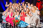 The NEW 2015 Kerry Rose, Julett Culloty from Kilcummin  with all the Kerry Rose contestants at the Kerry Rose Selection on Saturday night in Ballyroe heights hotel