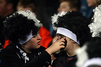 Fans in the grandstand during the Rugby Championship match between the New Zealand All Blacks and South Africa Springboks at QBE Stadium in Albany, Auckland, New Zealand on Saturday, 16 September 2017. Photo: Shane Wenzlick / lintottphoto.co.nz