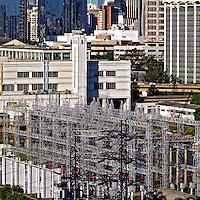 Subestaçao de distribuiçao de eletricidade. Itaim. Sao Paulo. 2011. Foto de Juca Martins.