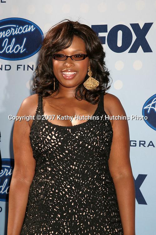 Jennifer Hudson.American Idol Finale  Season 6.Kodak Theater.Los Angeles, CA.May 23, 2007.©2007 Kathy Hutchins / Hutchins Photo