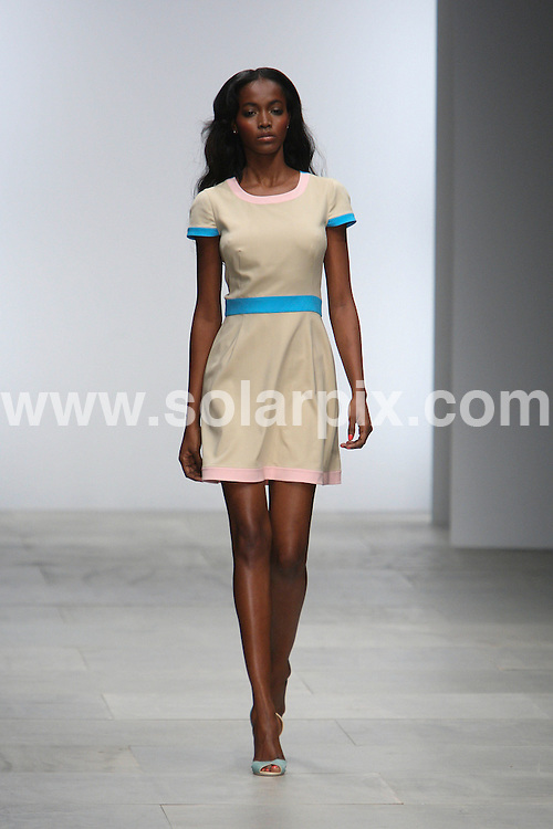 **ALL ROUND PICTURES FROM SOLARPIX.COM** **WORLDWIDE SYNDICATION RIGHTS** .London Fashion Week Issa London SS 2012 Runway Summer Season at Somerset House in London on 16 September 2011.This pic:     Issa Runway .JOB REF:     13975     MLW     DATE: 17.09.11 .**MUST CREDIT SOLARPIX.COM OR DOUBLE FEE WILL BE CHARGED** **MUST AGREE FEE BEFORE ONLINE USAGE** **CALL US ON: +34 952 811 768 or LOW RATE FROM UK 0844 617 7637**.