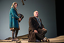 London, UK. 05.03.2013. English Touring Theatre's production of THE SIEGE OF CALAIS by Donizetti, opens at Hackney Empire, prior to touring. Picture shows: Paula Sides (Eleonora) and Eddie Wade (Eustachio, Mayor of Calais). Photo credit: Jane Hobson.