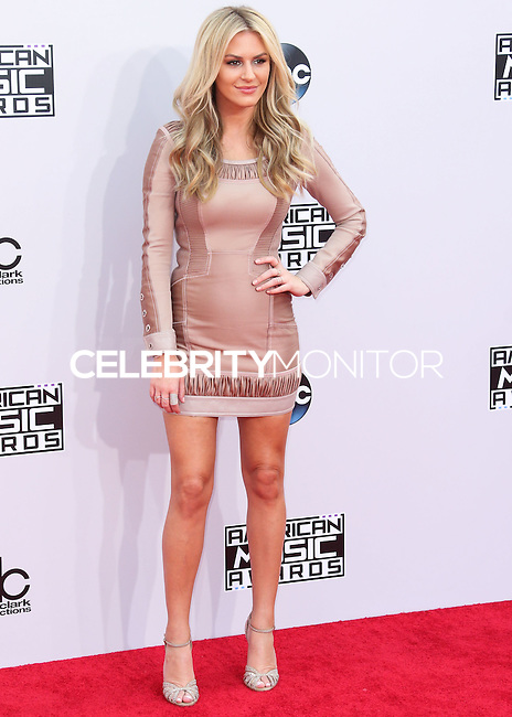 LOS ANGELES, CA, USA - NOVEMBER 23: Morgan Stewart arrives at the 2014 American Music Awards held at Nokia Theatre L.A. Live on November 23, 2014 in Los Angeles, California, United States. (Photo by Xavier Collin/Celebrity Monitor)