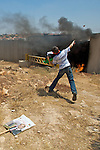 WEST BANK 16/07/2010: Demonstration & Clash in Ni'lin