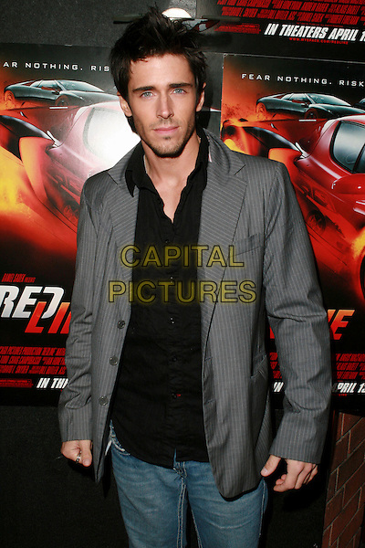 "BRANDON BEEMER .Redline Premiere Party, ""Myspace For Myfriends"" held at Aura Nightclub, Studio City, California, USA.  .April 18th, 2007.half length grey gray suit jacket .CAP/ADM/CH.©Charles Harris/AdMedia/Capital Pictures"
