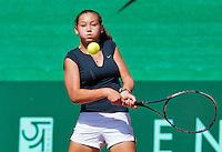 Netherlands, Rotterdam August 05, 2015, Tennis,  National Junior Championships, NJK, TV Victoria, Birgit Heijnemans<br /> Photo: Tennisimages/Henk Koster