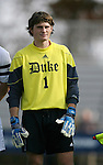 Duke's Justin Papadakis on Sunday, November 19th, 2006 at Koskinen Stadium in Durham, North Carolina. The Duke Blue Devils defeated the Lehigh University Mountain Hawks 3-0 in an NCAA Division I Men's Soccer Championship third round game.