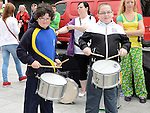 St. Mary's Drummers from St. Mary's school were invited to play in the Drogheda Samba Festival. Photo:Colin Bell/pressphotos.ie
