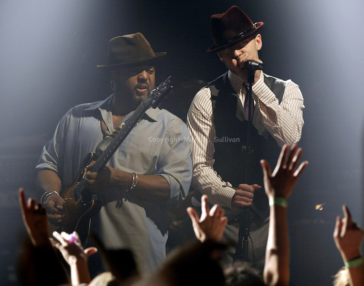 JUSTIN TIMBERLAKE<br /> STARLAND BALLROOM<br /> SAYREVILLE,NJ<br /> ON FRI SEPT. 1,2006<br /> MARK R. SULLIVAN  &copy; 2006