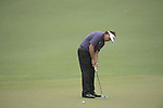 AUGUSTA, GA - APRIL 12: Phil Mickelson hits on the green during the Second Round of the 2013 Masters Golf Tournament at Augusta National Golf Club on April 10in Augusta, Georgia. (Photo by Donald Miralle) *** Local Caption ***