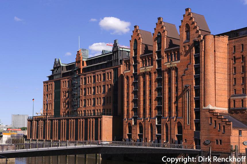 Maritimes Museum in der Speicherstadt, Hamburg, Deutschland