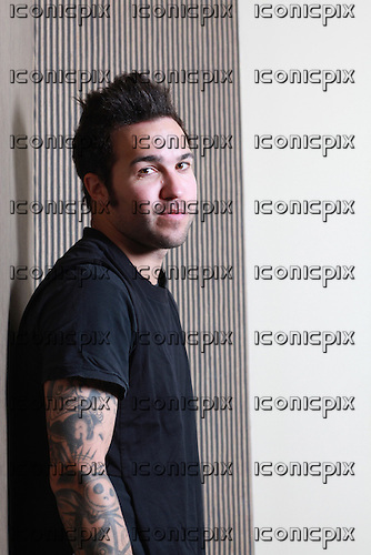 FALL OUT BOY - bassist Pete Wentz - Portrait Photosession in Paris France - 05 Apr 2013.  Photo credit: Manon Violence/Dalle/IconicPix  (UK ONLY)