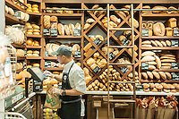 Bread department in the new Whole Foods Market opposite Bryant Park in New York on opening day Saturday, January 28, 2017. The store in Midtown Manhattan is the chain's 11th store to open in the city. The store has a large selection of prepared foods from a diverse group of vendors inside the store.  (© Richard B. Levine)