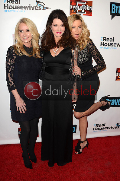 """Kim Richards, Lisa Vanderpump, Camille Grammer<br /> at """"The Real Housewives of Beverly Hills"""" Season 7 Premiere Party, Sofitel Hotel, Beverly Hills, CA 12-02-16<br /> David Edwards/DailyCeleb.com 818-249-4998"""