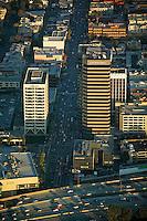 aerial photograph Citibank, Citi National, Los Angeles, California