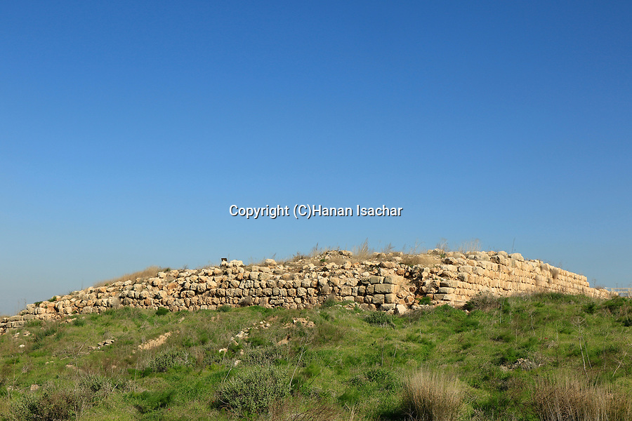 Israel,Tel Lachish, site of the biblical city Lachish, the Israelite palace