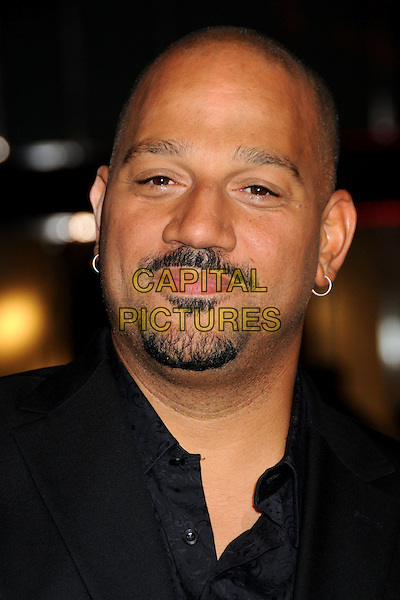 "ALLEN HUGHES .at Alcon Entertainment's L.A. Premiere of ""The Book of Eli"" held at The Chinese Theatre in Hollywood, California, USA, .January 11th 2010. .portrait headshot black goatee moustache mustache facial hair .CAP/ADM/BP.©Byron Purvis/AdMedia/Capital Pictures."