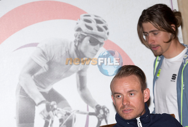 Alexander Kristoff (NOR) Team Katusha during the press conference of the Milano-San Remo cycling race at Palazzo Marino in Milan, 18 March 2016.<br /> Picture: ANSA/CLAUDIO PERI | Newsfile<br /> <br /> <br /> All photos usage must carry mandatory copyright credit (© Newsfile | Claudio Peri)