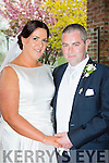 Amy Hallissey, Firies, daughter of Martina Coffey and the late Jackie Hallissey, and Stephen McLaughlin, Buncrana, Co donegal, who were married in St Mary's church Beaufort on saturday, Fr Donal O'Connor officiated at the ceremony, best man was Damian McLaughlin, groomsmen were Mark , Oran and David McLaughlin, bridemaids were Kate Doran, Marie Johnson, Caroline Cooper and Ursulla Hayes, flowergirls were Clodagh and Nicola McLaughlin, and Scarlett Cooper, pageboys were Christopher Mclaughlin, Harry Hallissey, and James Hayes, the reception was held in the Killarney Oaks Hotel and the couple will reside in Firies