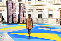 Clara Amfo arriving for the Royal Academy of Arts Summer Exhibition 2018 opening party, London, UK. <br /> 06 June  2018<br /> Picture: Steve Vas/Featureflash/SilverHub 0208 004 5359 sales@silverhubmedia.com
