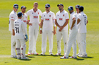 Essex players celebrate taking the wicket of jack Leaning during Kent CCC vs Essex CCC, Friendly Match Cricket at The Spitfire Ground on 27th July 2020