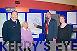 Eirgrid Open Day: Attending the Open day organized by Eirgrid and held in Duagh Community Centre on Friday last were David Reidt, ESB International, Bernie Broderick, Duagh Community Centre, Brendan Kearney, Eitgrid & Darina Frawley, Eirgrid.