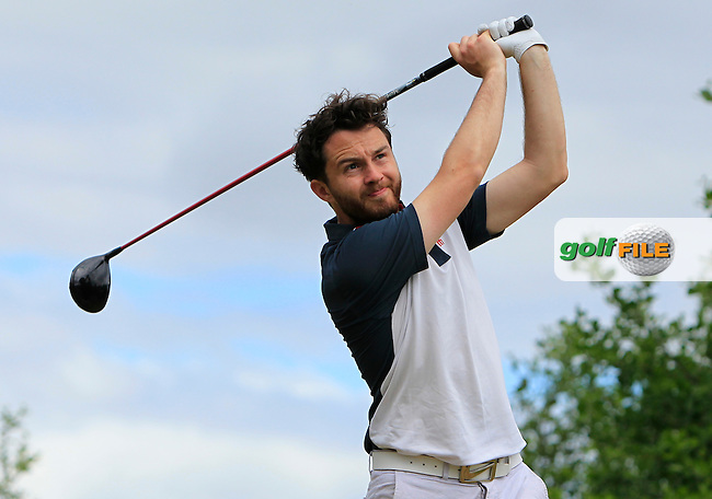 Gerard Dunne (Co. Louth) on the 12th tee during Round 3 of the 2016 Connacht Strokeplay Championship at Athlone Golf Club on Sunday 12th June 2016.<br /> Picture:  Golffile | Thos Caffrey