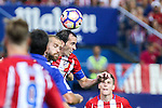 Atletico de Madrid's Diego Godin during the match of La Liga Santander between Atletico de Madrid and Deportivo Alaves at Vicente Calderon Stadium. August 21, 2016. (ALTERPHOTOS/Rodrigo Jimenez)