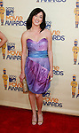 UNIVERSAL CITY, CA. - May 31: Actress Margo Harshman arrives at the 2009 MTV Movie Awards held at the Gibson Amphitheatre on May 31, 2009 in Universal City, California.
