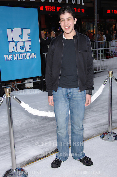"Actor JOSH PECK at the world premiere of his new movie ""Ice Age: The Meltdown"" at the Grauman's Chinese Theatre, Hollywood..March 19, 2006  Los Angeles, CA..© 2006 Paul Smith / Featureflash"