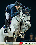 Maikel van der Vleuten of Netherlands riding VDL Groep Eureka in action at the Massimo Dutti Trophy during the Longines Hong Kong Masters 2015 at the AsiaWorld Expo on 15 February 2015 in Hong Kong, China. Photo by Juan Flor / Power Sport Images