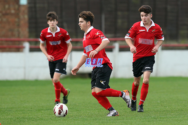 RAMSGATE v HOLLAND AND BLAIR<br /> KENT YOUTH LEAGUE<br /> U18 KIT TO FIT CHALLENGE CUP<br /> SUNDAY 8TH NOVEMBER 2015<br /> SOUTHWOOD STADIUM