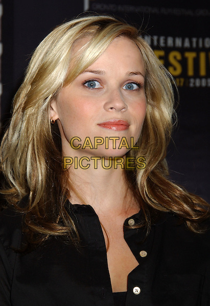 "REESE WITHHERSPOON.2005 Toronto Film Festival - ""Walk The Line"" Press Conference held at Sutton Place, Toronto, Ontario. .September 13th, 2005.Photo Credit: Laura Farr/AdMedia.headshot portrait.www.capitalpictures.com.sales@capitalpictures.com.© Capital Pictures."