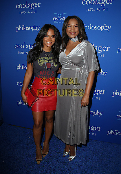 WEST HOLLYWOOD, CA - SEPTEMBER 22: Christina Milian, Garcelle Beauvais attends the 'Welcome to the Age of Cool' event hosted by Philosophy and Ellen Pompeo on September 22, 2016 in West Hollywood, California.  <br /> CAP/MPI/PAR<br /> &copy;PAR/MPI/Capital Pictures