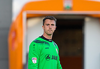 Goalkeeper Jamie Stephens of Barnet during the 2017/18 Pre Season Friendly match between Barnet and Swansea City at The Hive, London, England on 12 July 2017. Photo by Andy Rowland.