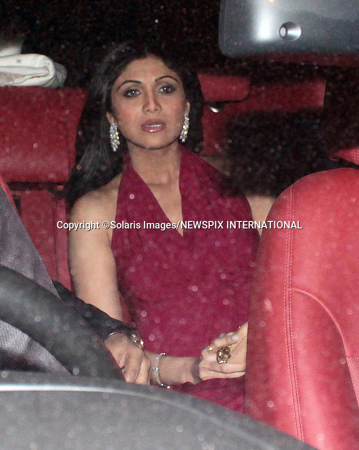 "OPRAH WINFREY IN INDIA.Shilpa Shetty attends a party hosted by Indian socialite Parmeshwar Godrej in honour of visiting American Chat Show Hostess, Oprah Winfrey, Mumbai, India_January 16, 2012..She is scheduled to visit five different cities in six days to shoot her new show besides attending the Jaipur Literature Festival later this month. .Oprah will shoot with spiritual guru Deepak Chopra for her new show, Next Chapter..Mandatory Photo Credit: ©Pravin Uttukar-Solaris Images/NEWSPIX INTERNATIONAL..**ALL FEES PAYABLE TO: ""NEWSPIX INTERNATIONAL""**..PHOTO CREDIT MANDATORY!!: NEWSPIX INTERNATIONAL(Failure to credit will incur a surcharge of 100% of reproduction fees)..IMMEDIATE CONFIRMATION OF USAGE REQUIRED:.Newspix International, 31 Chinnery Hill, Bishop's Stortford, ENGLAND CM23 3PS.Tel:+441279 324672  ; Fax: +441279656877.Mobile:  0777568 1153.e-mail: info@newspixinternational.co.uk"