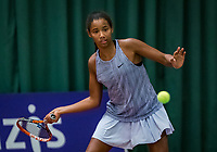 Wateringen, The Netherlands, December 1,  2019, De Rhijenhof , NOJK 12 and16 years, final girls 12 years: Silver Bijlsma (NED) <br /> Photo: www.tennisimages.com/Henk Koster