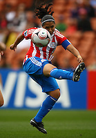 Evelyn Armoa (PAR)..FIFA U17 Women's World Cup, Paraguay v USA, Waikato Stadium, Hamilton, New Zealand, Sunday 2 November 2008. Photo: Renee McKay/PHOTOSPORT