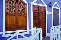Colourful house on Gran Roque, Los Roques islands, Venezuela