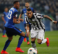 Calcio, quarti di finale di andata di Champions League: Juventus vs Monaco. Torino, Juventus stadium, 14 aprile 2015.<br /> Juventus' Roberto Pereyra in action during the Champions League quarterfinals first leg football match between Juventus and Monaco at Juventus stadium, 14 April 2015.<br /> UPDATE IMAGES PRESS/Isabella Bonotto