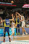 10.03.2018, RASTA Dome 2.0, VECHTA, GER, Beko BBL ProA, RASTA Vechta vs Phoenix Hagen, im Bild<br /> <br /> Dirk M&auml;drich / Maedrich (Rasta Vechta #20)<br /> Spohr, Dominik (Phoenix Hagen #19)<br /> Seth Hinrichs (Rasta Vechta #21)<br /> Herrera, Alex   (Phoenix Hagen #44)<br /> <br /> Foto &copy; nordphoto / Kokenge