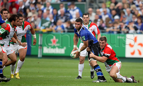 10.10.2010 Luke Watson (Bath Captain). Heinekin Cup Rugby from the Recreation Ground Bath v Biarritz..