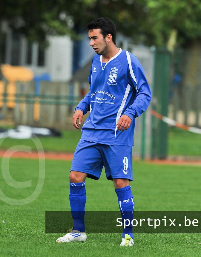FC Lendelede Sport : Toon Bellemans.foto VDB / BART VANDENBROUCKE
