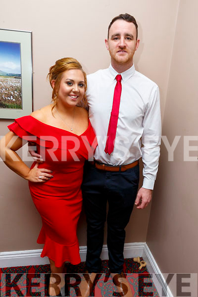 Rosie Tull and Eoin O'Carroll taking part in the Ballymac Strictly Love dancing in the Ballygarry House Hotel on Saturday