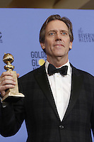 www.acepixs.com<br /> <br /> January 8 2017, LA<br /> <br /> Hugh Laurie appeared in the press room during the 74th Annual Golden Globe Awards at The Beverly Hilton Hotel on January 8, 2017 in Beverly Hills, California.<br /> <br /> By Line: Famous/ACE Pictures<br /> <br /> <br /> ACE Pictures Inc<br /> Tel: 6467670430<br /> Email: info@acepixs.com<br /> www.acepixs.com